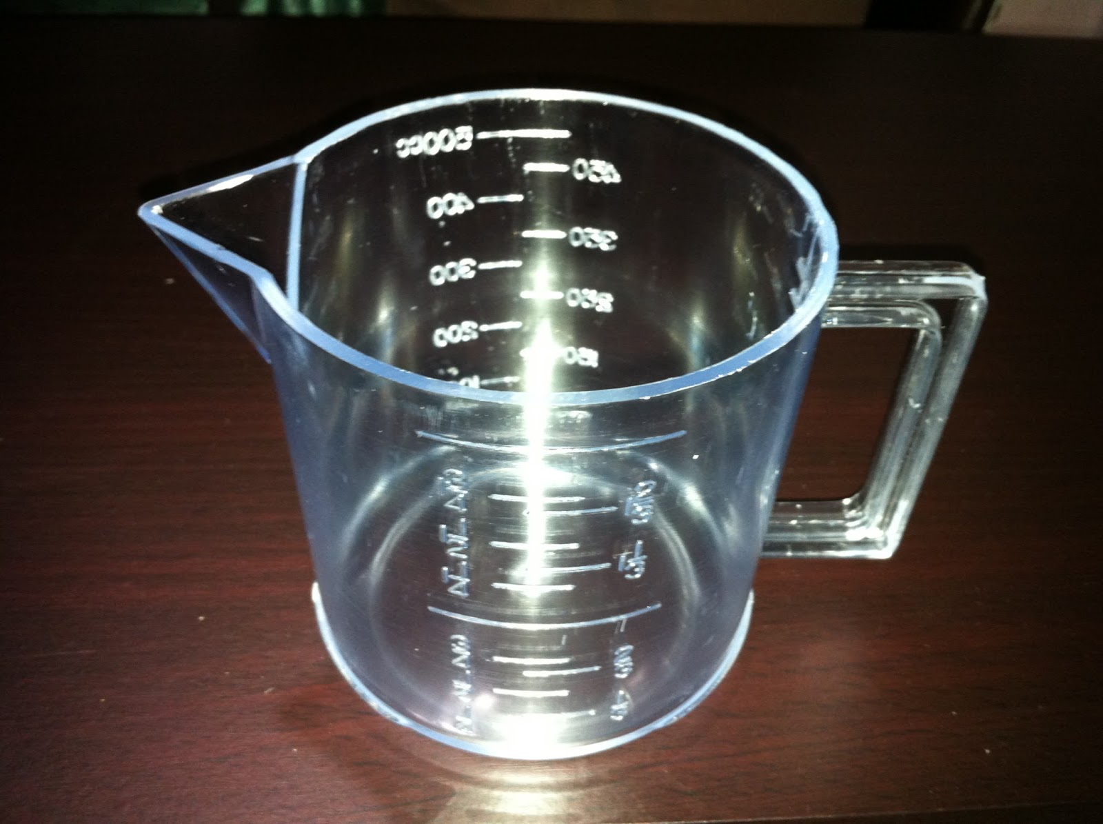 Wing juice section weighing for 8 tablespoons to cups