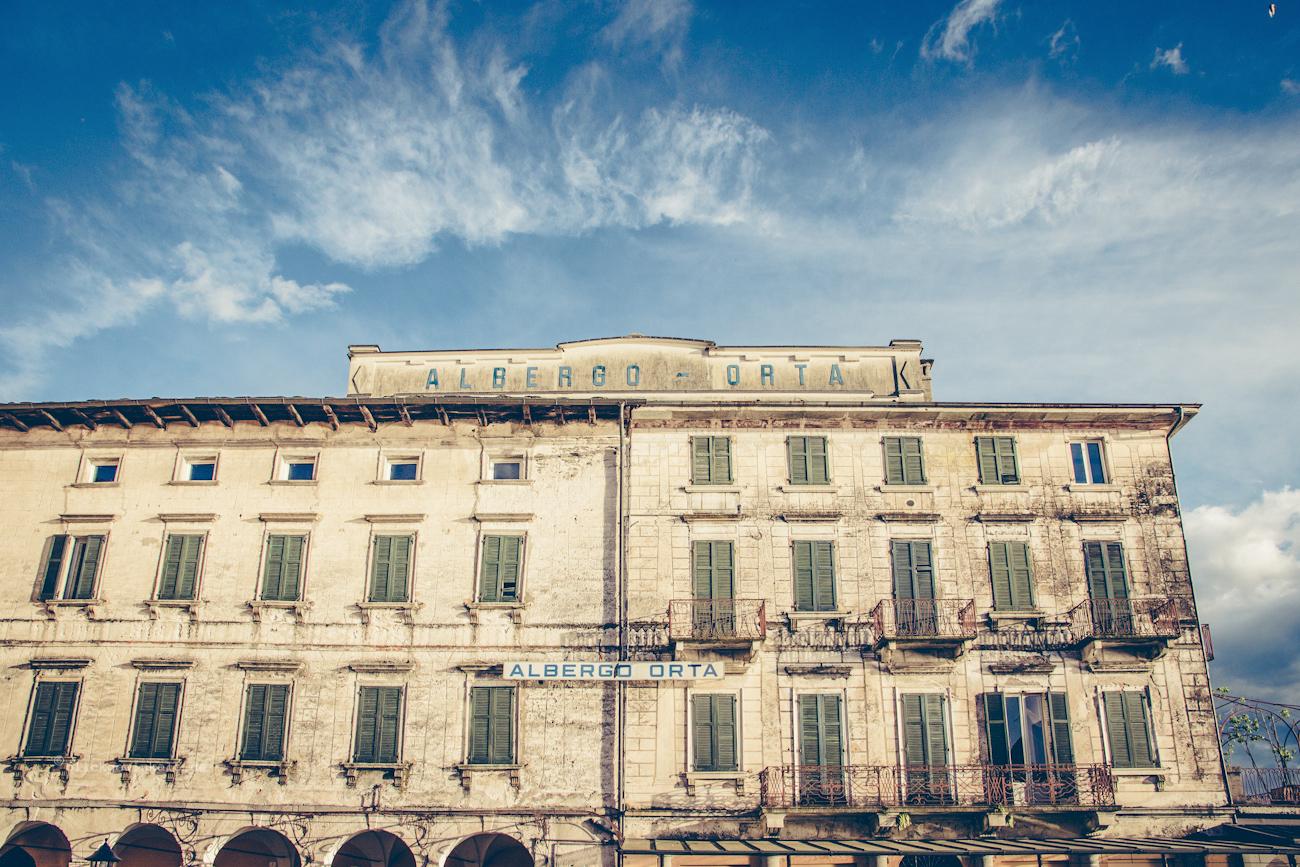 Altes verlassenes Hotel