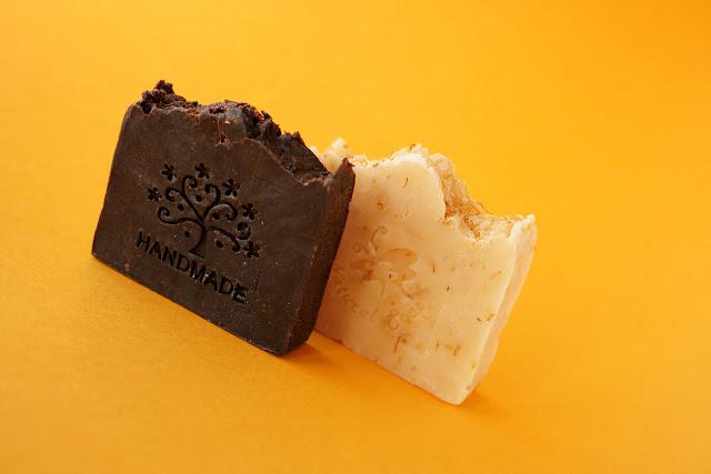 Мыло ручной работы с нуля. Шоколадный апельсин и Иланг-Иланг.