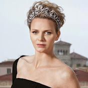 Style of Princess Charlene of Monaco. jewelry, diamonds, diamond earrings, diamond rings, diamond necklaces, gold necklaces, gold bracelets, dresses,  clothes, clothing, shoe, wedding dress, newmyroyals