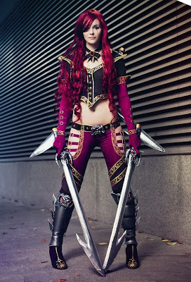 High Command Katarina Cosplay