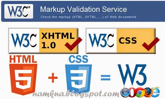 Cách thiết kế Blogspot theo chuẩn W3C