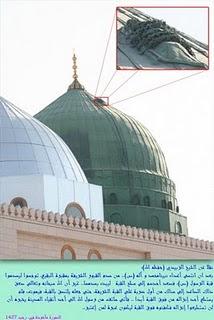 Mayat Manusia Diatas Mesjid Nabawi