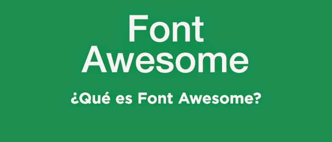 ¿Qué es Font Awesome?