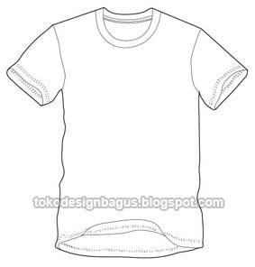 cara membuat pola baju template desain kaos menggunakan photoshop ...