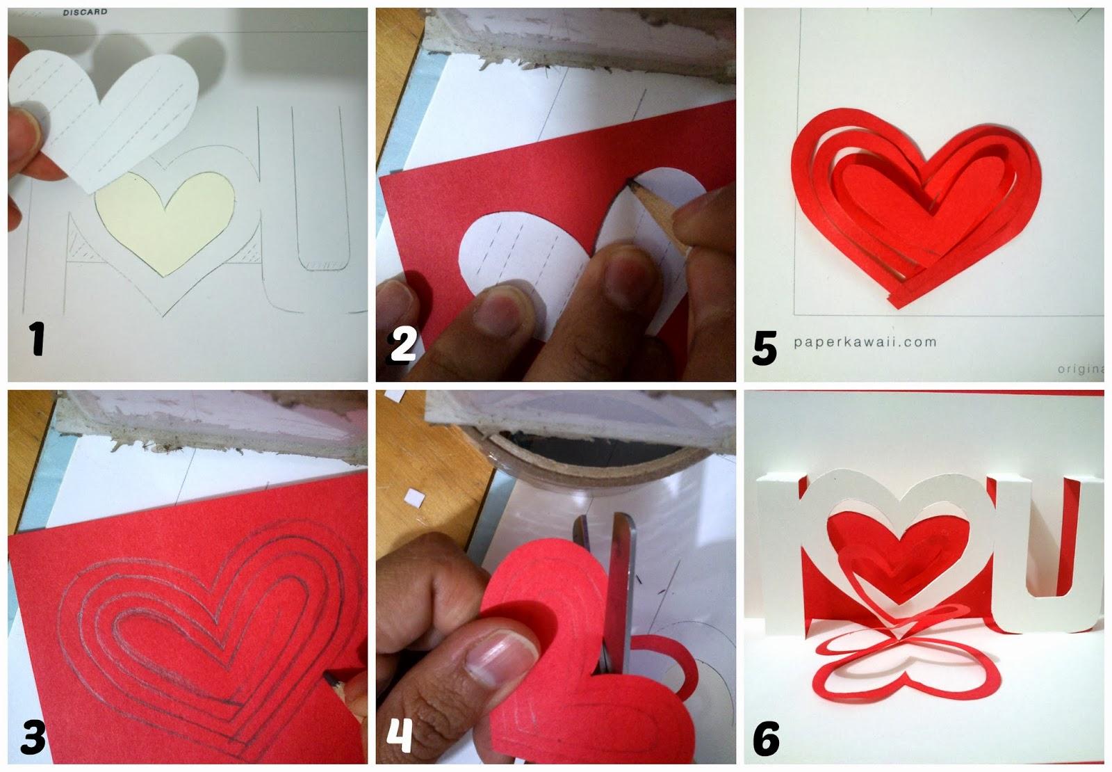 Gwiyomi blog: ♥ DIY Tarjetas día del Amor y la Amistad