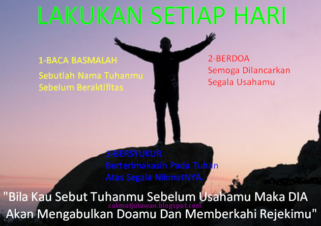 http://cakmatjutawan.blogspot.com/2015/01/lakukan-3-hal-setiap-hari.html