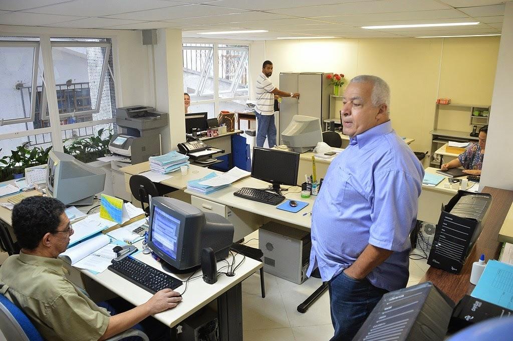 Secretário de Administração, José Carlos Cunha, destaca que além da Licitação, Gestão de Pessoal e Recursos Humanos estão de mudança para o Centro Administrativo nos próximos dias