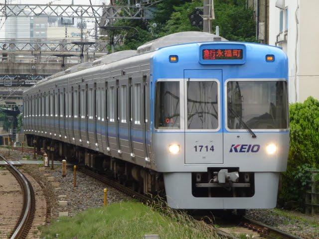 京王電鉄 急行 永福町行き 1000系1~4次車ライトブルー