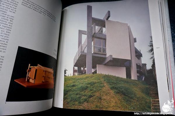 Meudon - Maison Mauriange-Auboyer, Habitation pour deux familles.  Architecte: Claude Parent  Projet / Construction: 1960 - 1964