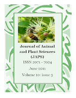 The Journal of Animal & Plant Sciences