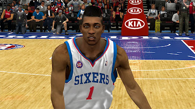 NBA 2K13 Nick Young New Hair - Hawk Mullet
