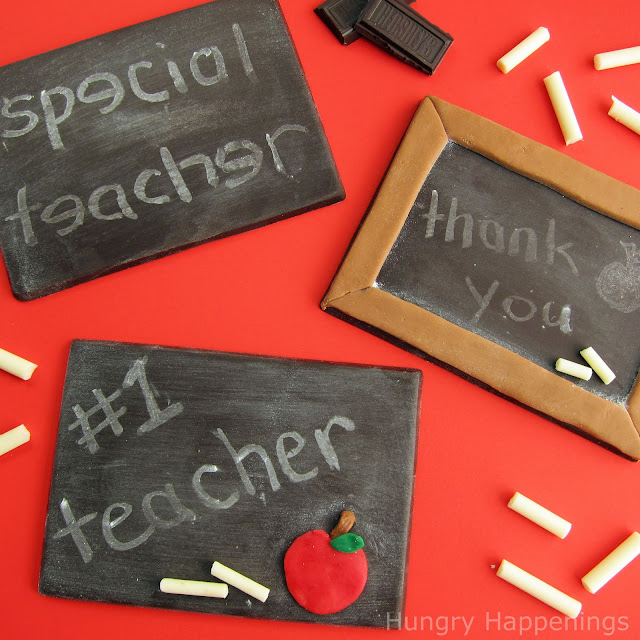 Chocolate+Chalkboard+teacher+gifts+ 9 back to school projects for kids