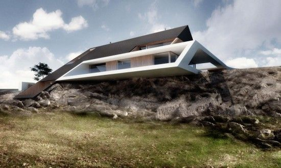 House Design Collection Mobius Architects Modern House On