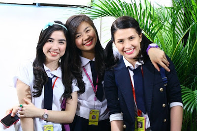 Angeli Gonzales, Miles Ocampo and Tippy DOs Santos