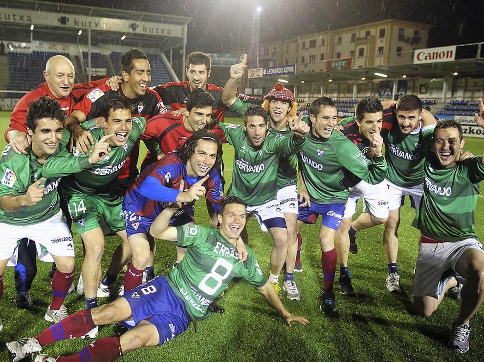 El Eibar ascienda a la Liga BBVA por primera vez en su historia