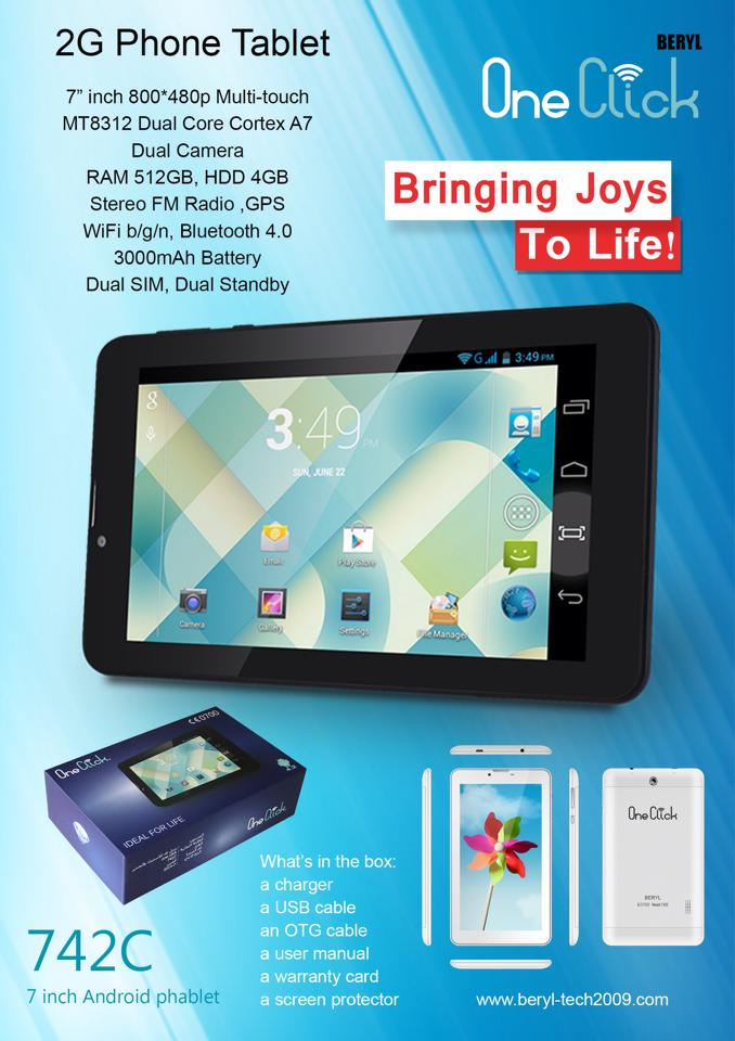 one click tablet