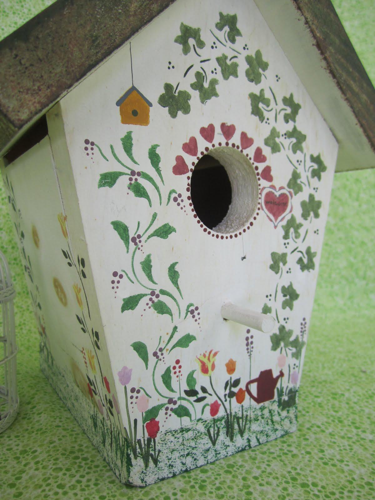 Birdhouse Home Amp Garden Wendys Hat