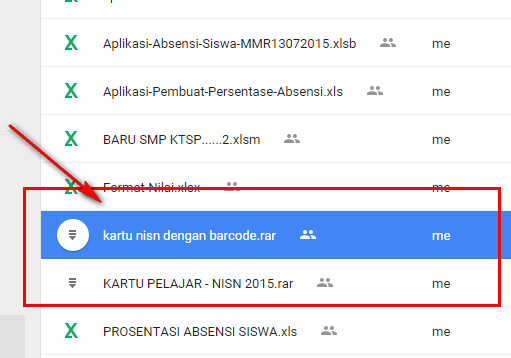 Kartu NISN Lengkap dengan Fitur Barcode Tebaru 2015 untuk SD, SMP, SMA