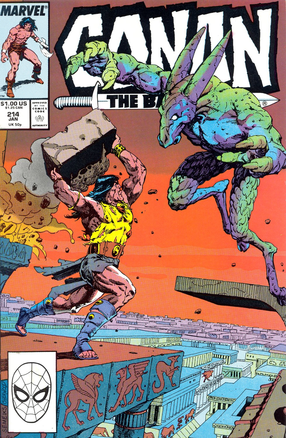 Conan the Barbarian (1970) Issue #214 #226 - English 1