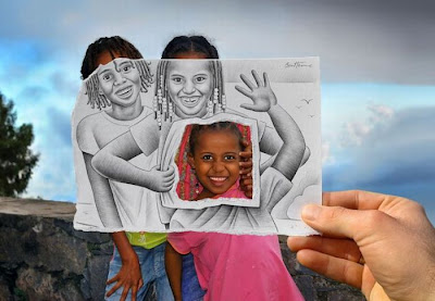Pencil versus Camera by Ben Heine Seen On www.coolpicturegallery.us