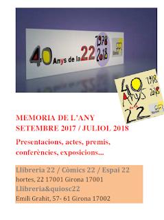 40 anys de la 22 / 1978 · 2018