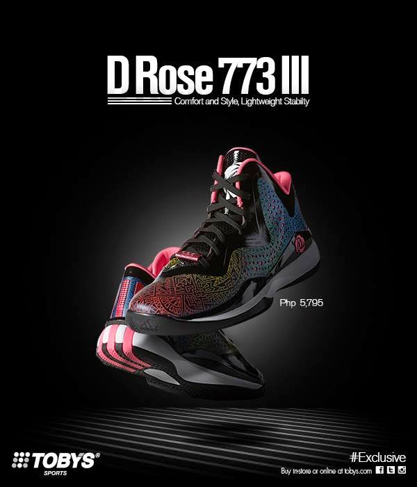 wholesale dealer 71065 82b8a Drose 773 III available now at Tobys Sports  Analykix