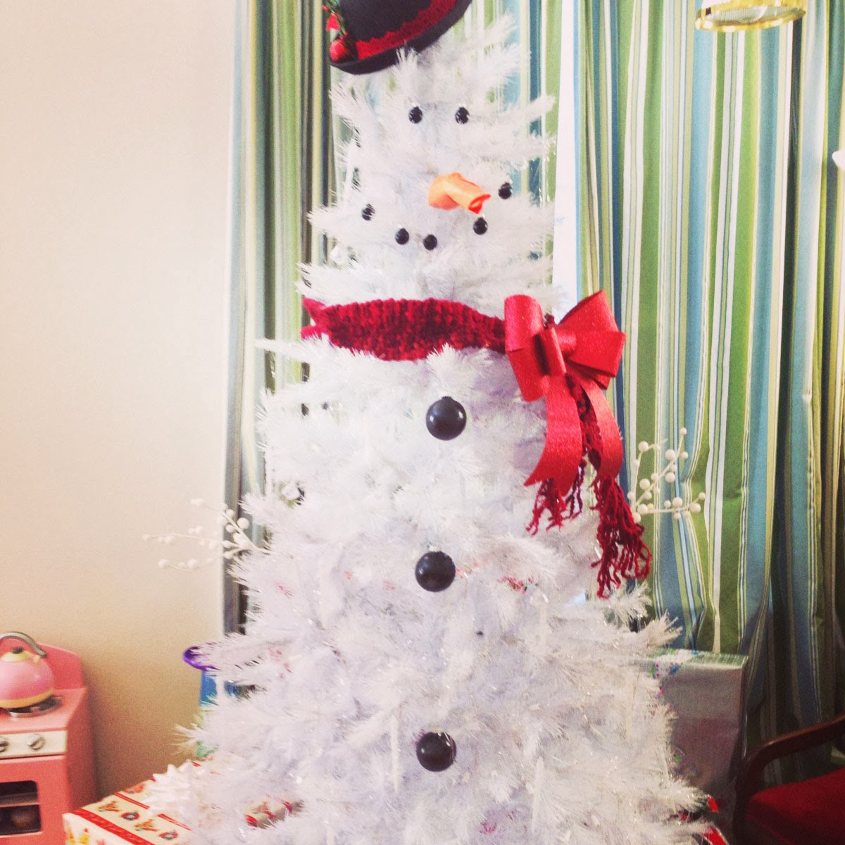 How to make a snowman tree for How to make a snowman