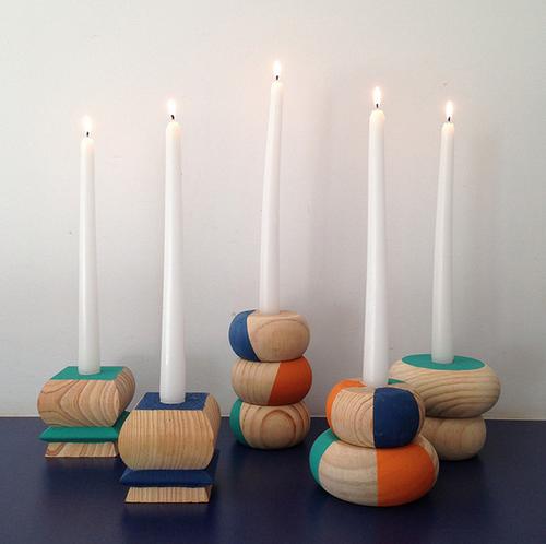 la decoración de mis mesas: Como hacer candelabros con patas de ...