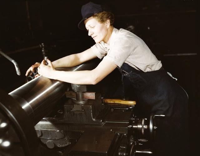 propaganda rol papel mujer Segunda Guerra Mundial