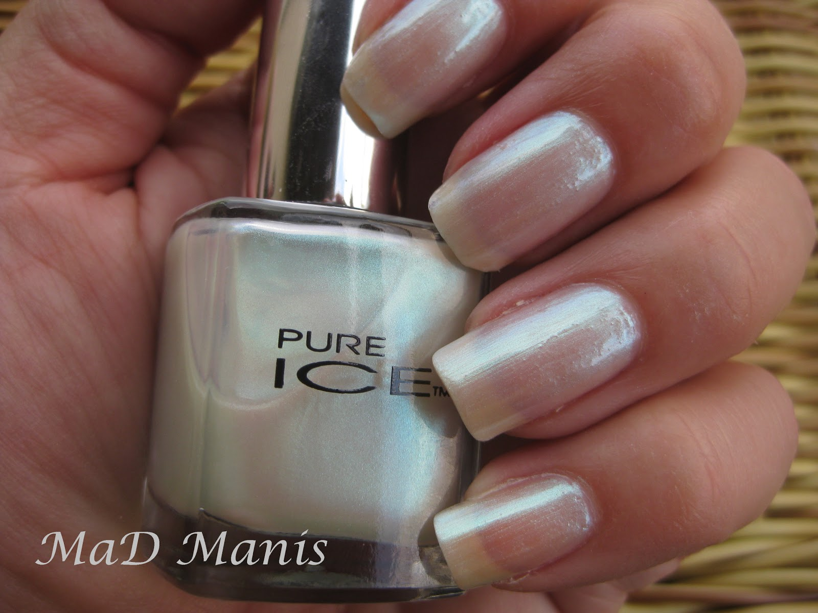 MaD Manis: Pure Ice swatches
