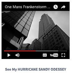 One MANS HURRICANE SANDY ODESSEY