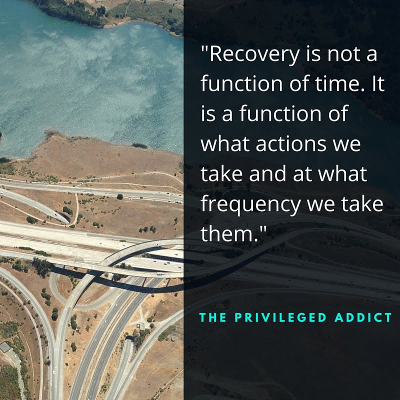 Recovery Not a Function of Time