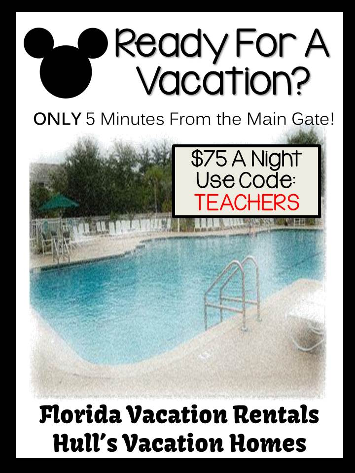 Click here to visit Hull's Florida Vacation Homes and receive a teacher discount using TEACHER as the code for $75 a night.