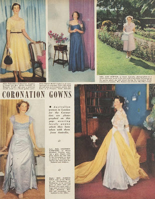 coronation fashion 1953