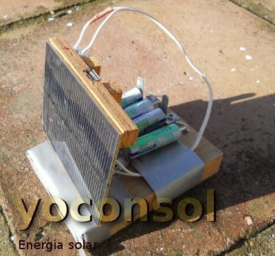 Yoconsol hacer un cargador pilas solar - Cargador para pilas ...