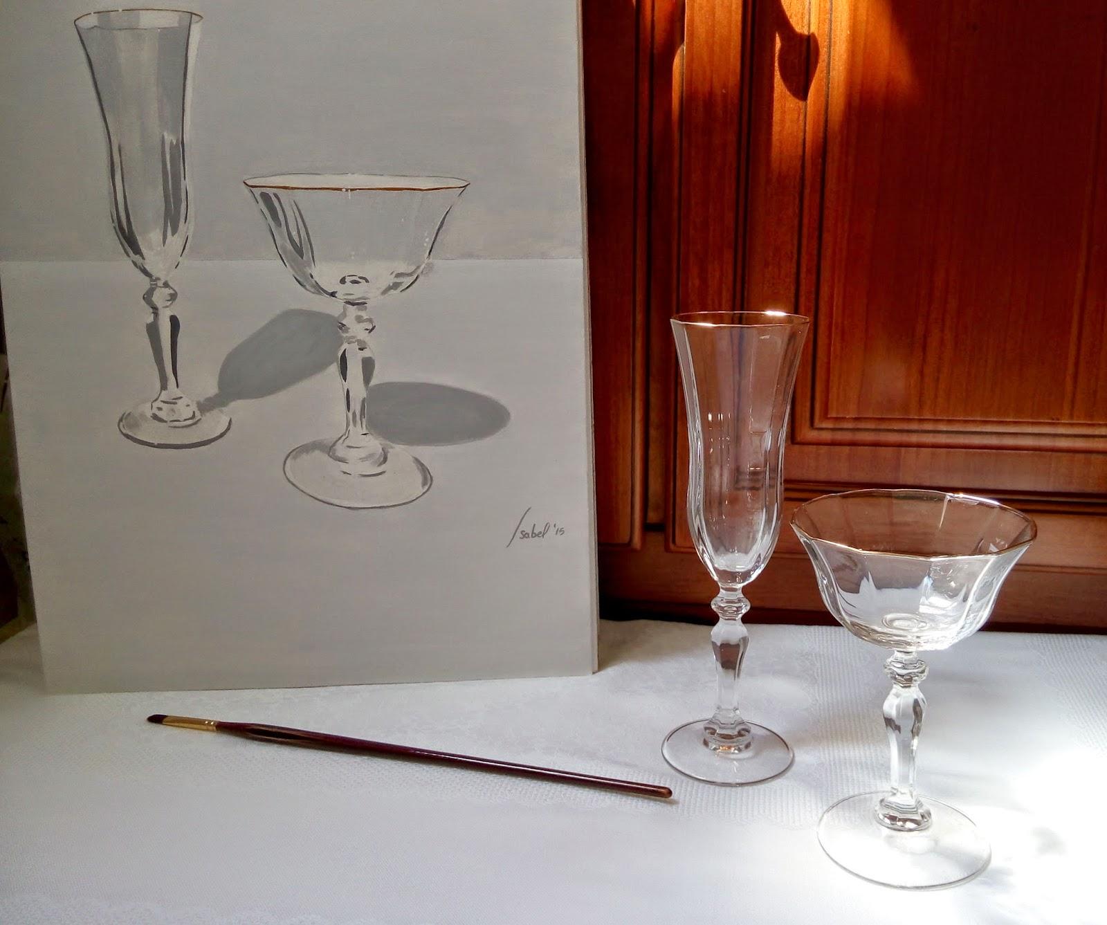 Copas de champagne copa y pincel for Copas para champagne