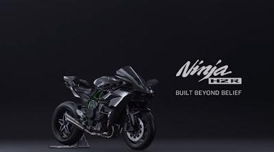 Warna Baru Motor Kawasaki H2R Sport Desain Keren