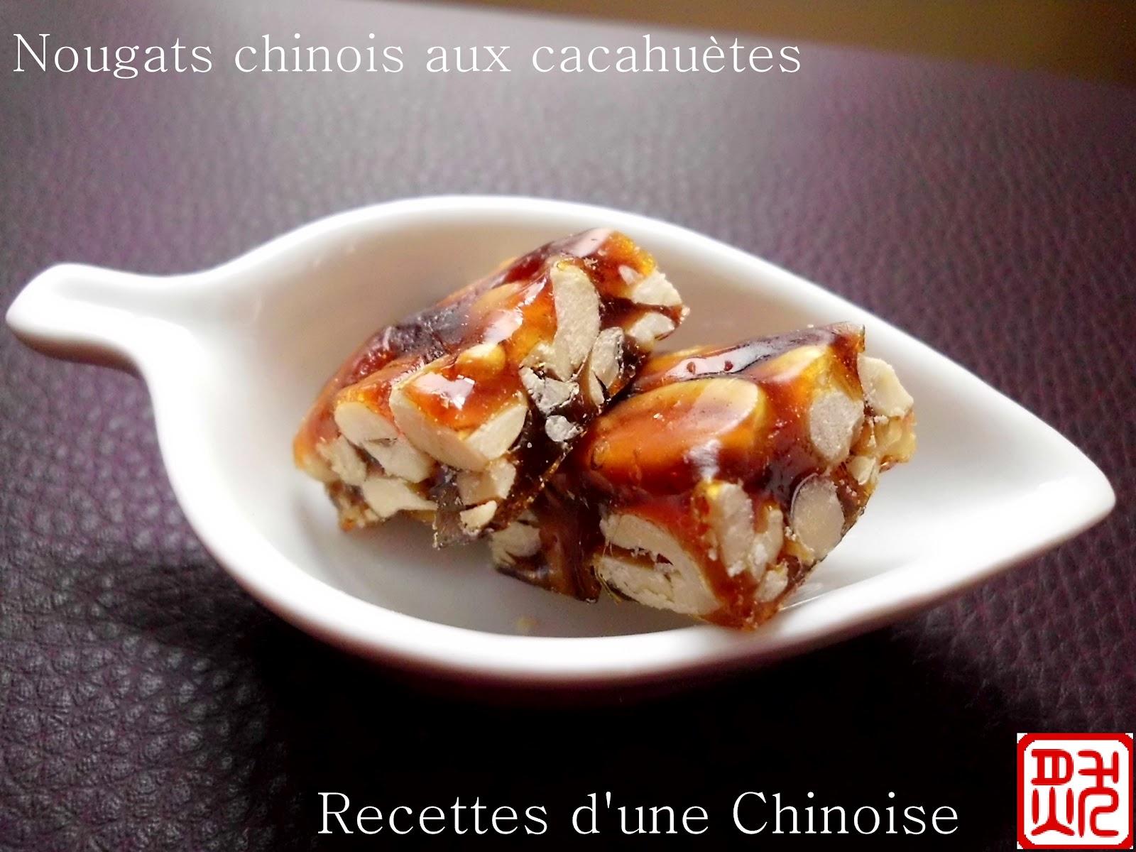 Nougats chinois croquants aux cacahu tes et aux s sames for Acheter un chinois cuisine