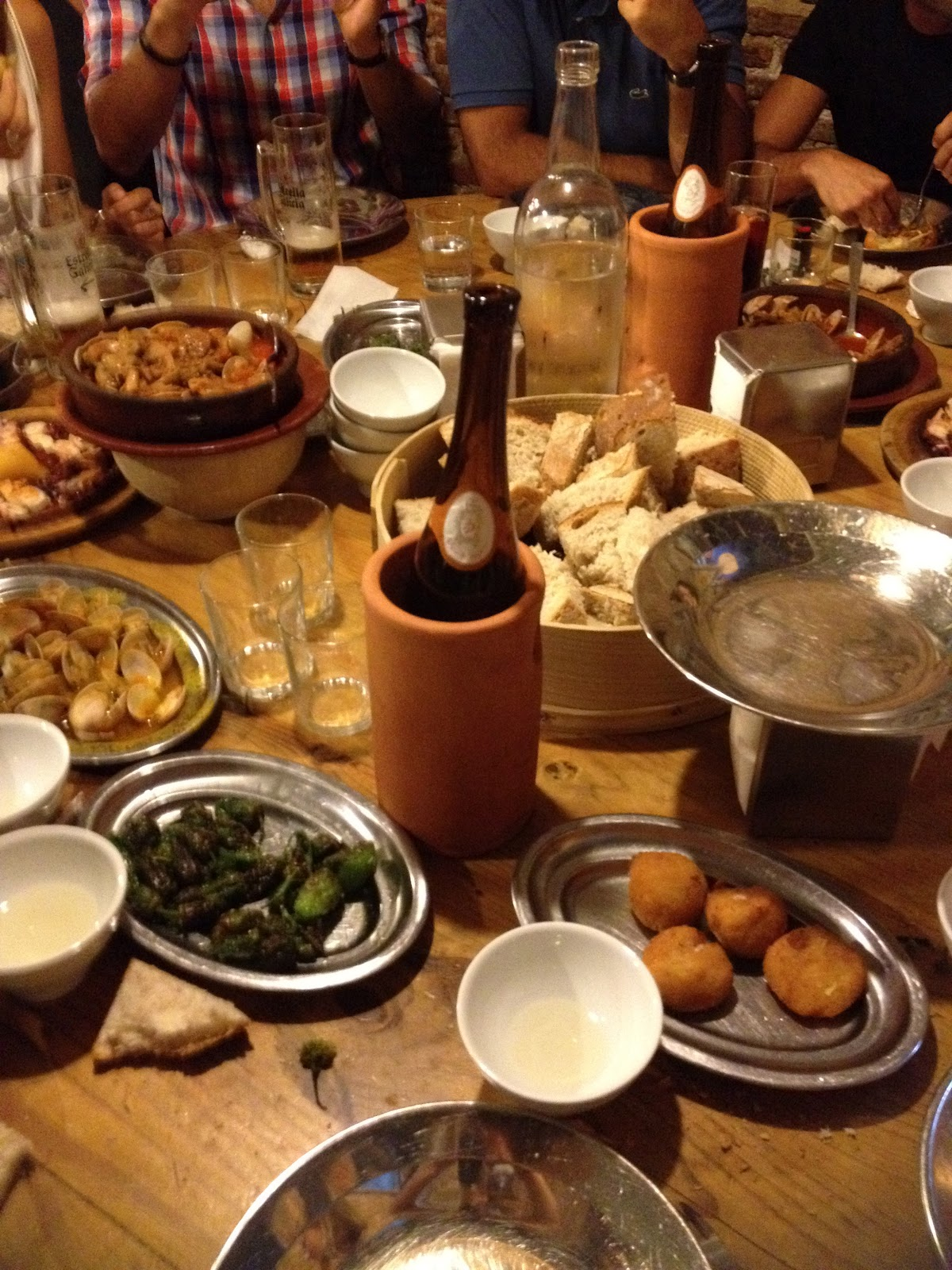Menu de madrid sortir entre amis et manger galicien for Que manger entre amis