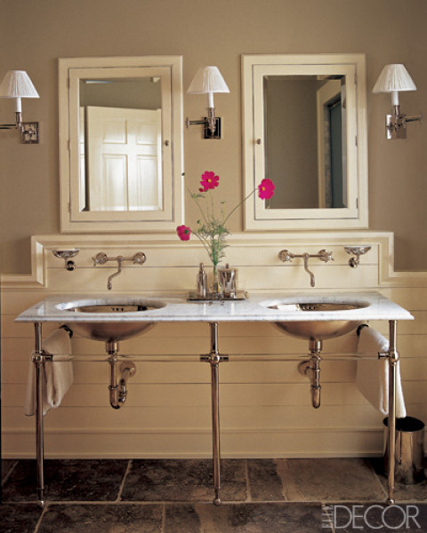 Our french inspired home bathroom sinks which is your for A bathroom in french