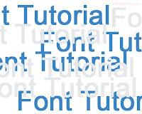 Font tutorial twinkle blink Cara membuat tulisan / Huruf kelap kelip