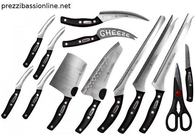 Coltelli miracle blade serie 3 e 4 kit di coltelli da cucina - Coltelli da cucina ...