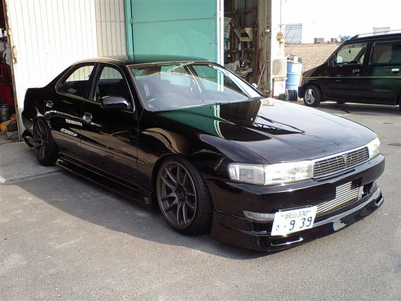 Toyota Cresta X90, tuning, drifting, RWD, zdjęcia, JDM, napęd na tył, japoński sportowy sedan, 日本車, チューニングカー, トヨタ