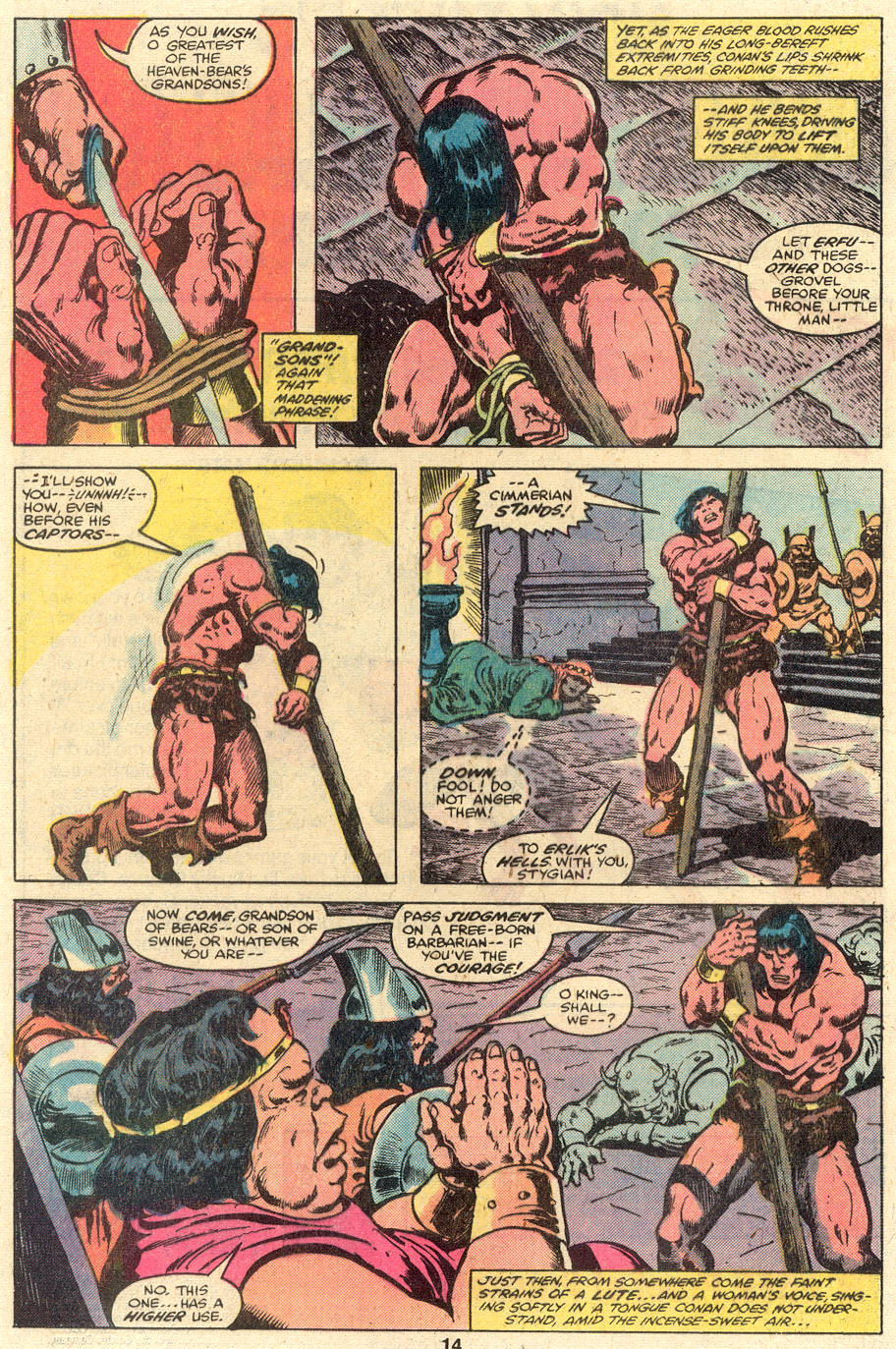 Conan the Barbarian (1970) Issue #110 #122 - English 9