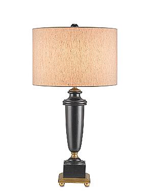 distressed black wood living room lamps