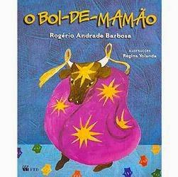 """capa do livro """"O Boi-de-Mamão"""