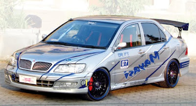 Stiker Body Mobil Sedan Gaul