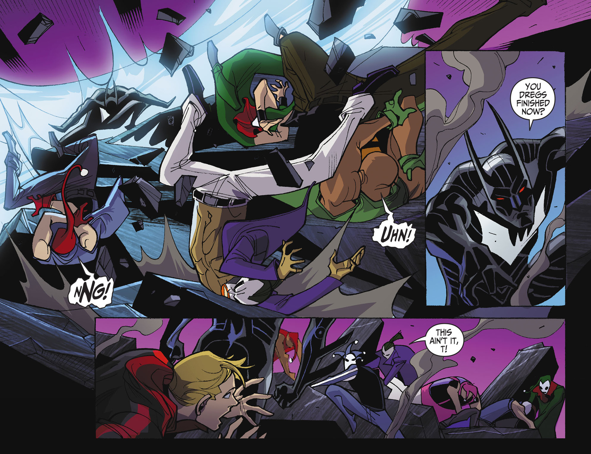 Batman Beyond 2.0 Issue #20 #20 - English 9