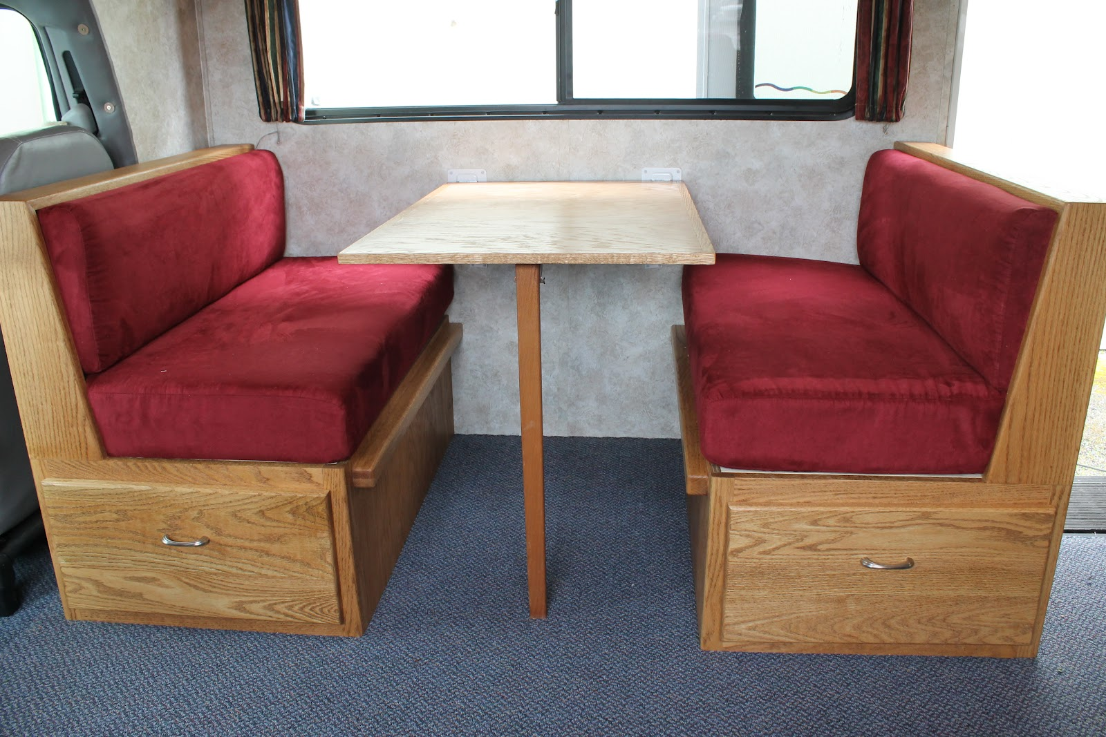 RV Dinette Booth Cushions